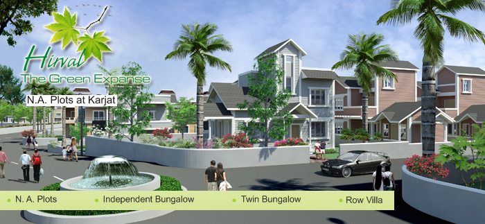 Affordable Row Villa In Karjat  Budget N A  Plots In
