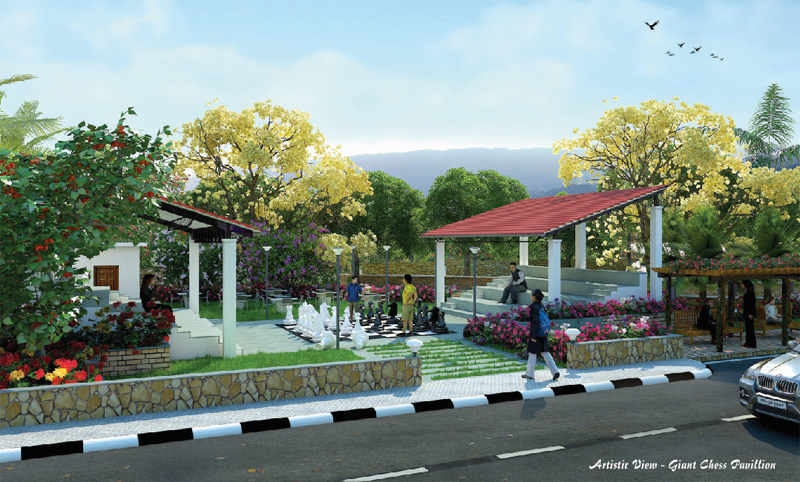 Affordable row houses in igatpuri budget bungalows in for Nauka coffee table